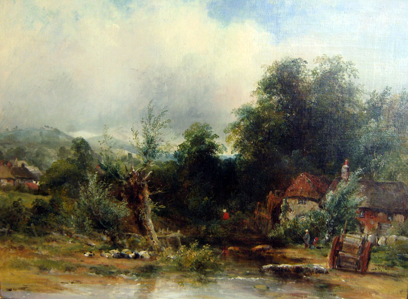 F W Watts - Old Water Mill Essex