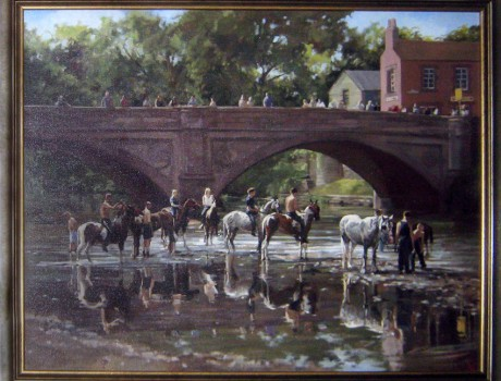 Reflections at Appleby by Alison Wilson
